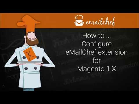 [EN] How to configure eMailChef extension for Magento 1.x