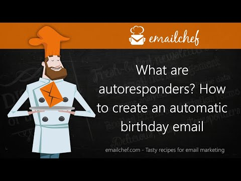 [EN] What are autoresponders? How to create an automatic birthday email