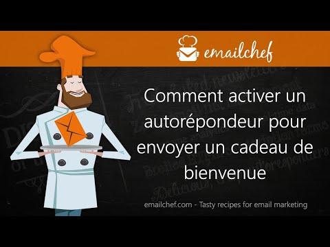 [FR] Comment activer un autorépondeur pour envoyer un cadeau de bienvenue