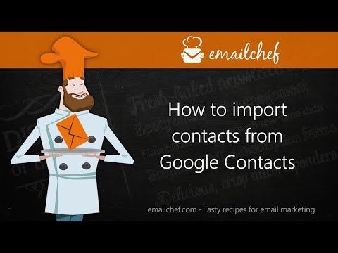 [EN] How to import contacts from Google Contacts