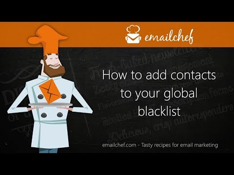 [EN] How to add contacts to your global blacklist