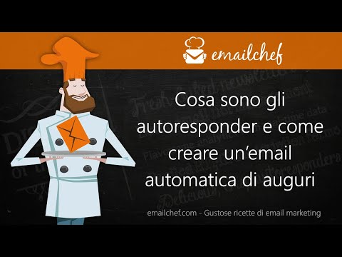 [IT] Cosa sono gli autoresponder e come creare un'email automatica di auguri