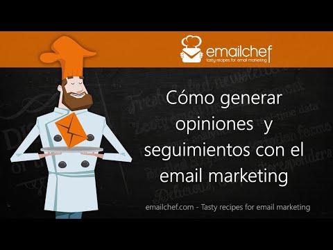 [ES] Cómo generar opiniones y seguimientos con el email marketing