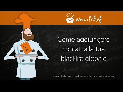 [IT] Come aggiungere contatti alla tua blacklist globale