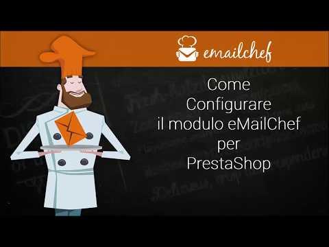 [IT] Come configurare il modulo eMailChef per PrestaShop