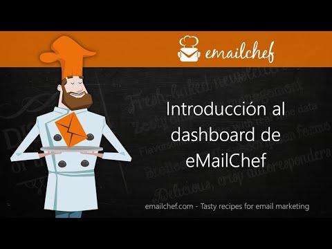 [ES] Introducción al dashboard de eMailChef