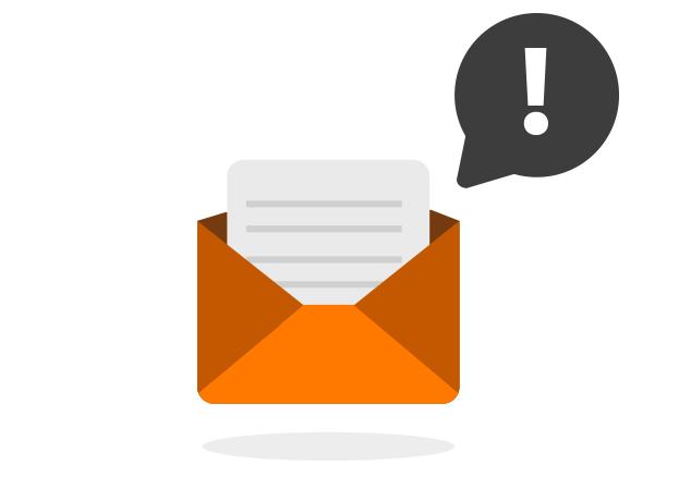 Email di notifica