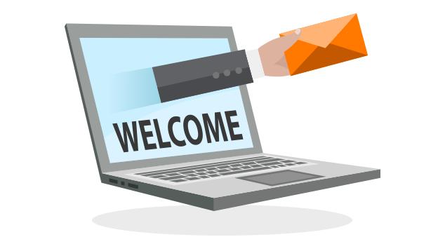 Email automatiche di benvenuto