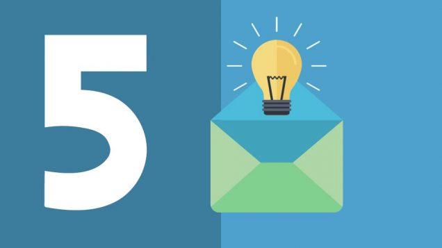 5 Grandes ideas para personalizar sus correos electrónicos