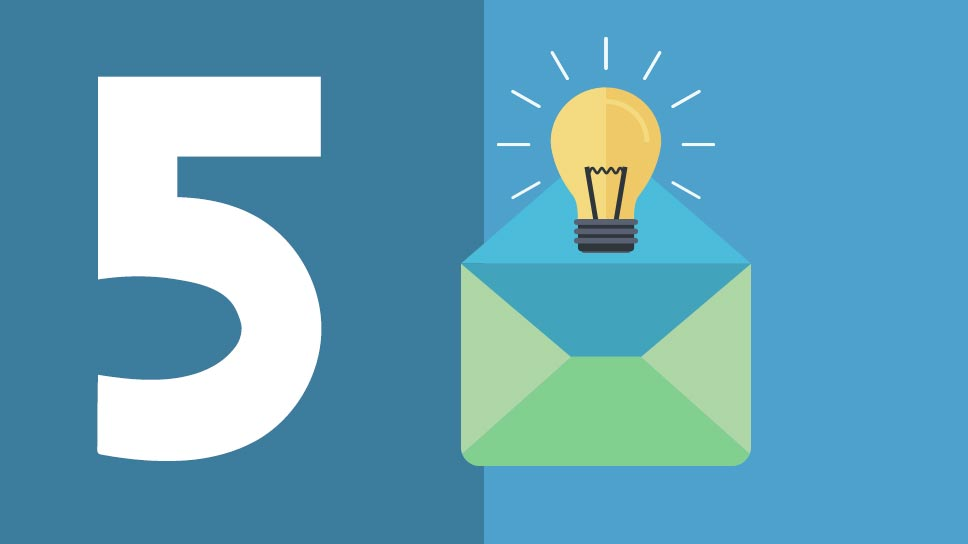5 Great ideas to personalize your emails