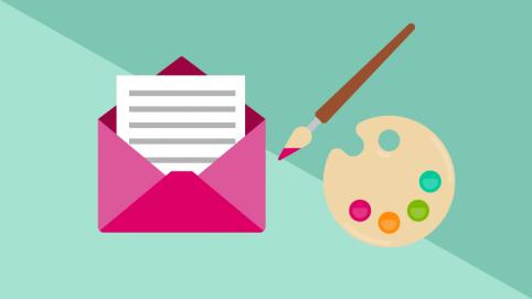 Farben für eine Marketing-E-Mail richtig wählen