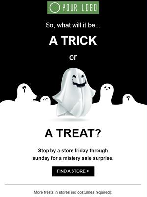 Template per email di halloween