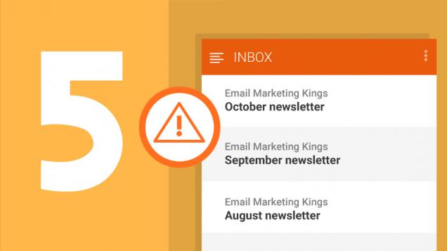 "5 Formas de Escribir un Asunto de Email Mejor Que ""Newsletter De Octubre"""