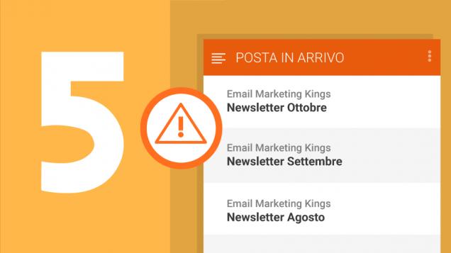 """Oggetto dell'email? 5 modi per fare meglio di """"Newsletter mensile"""""""