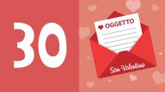 oggetto email San Valentino