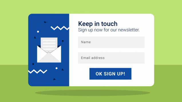 The Sign-Up Form - How to Improve Your Registration Form to Increase Newsletter Subscriptions