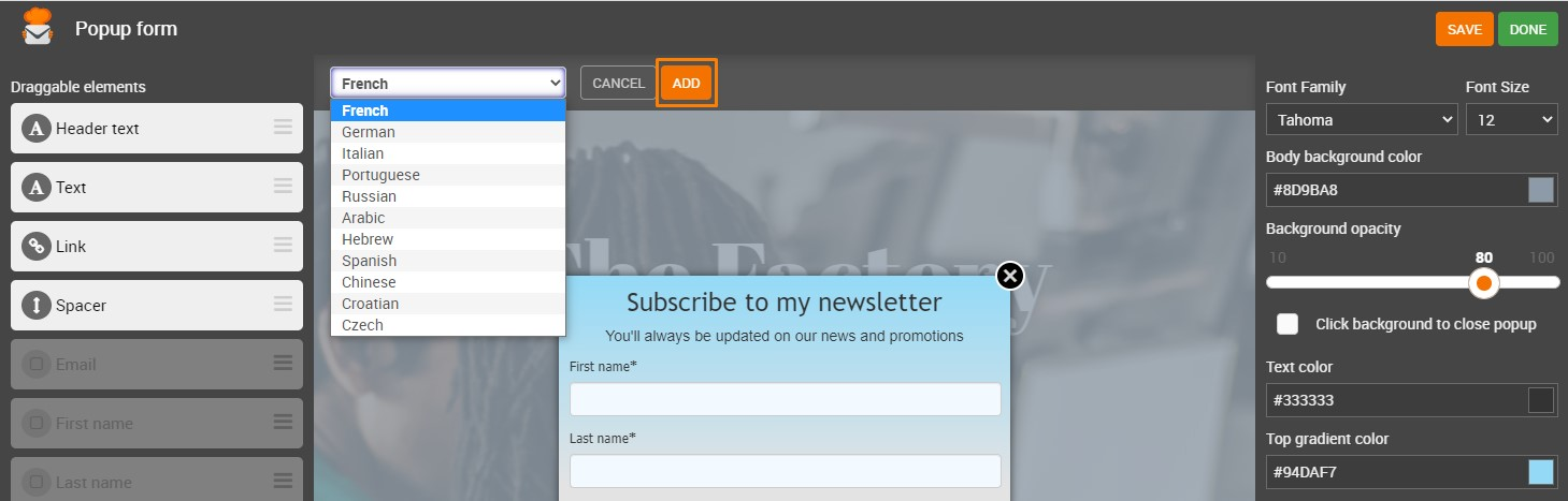 How to Create and Manage Signup Forms