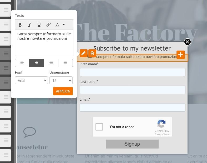 Come creare e gestire i form d'iscrizione