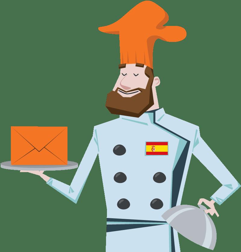 Mailchimp en español? Simplemente no existe